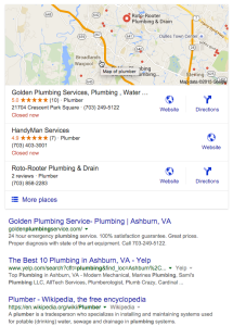 va plumber listsings